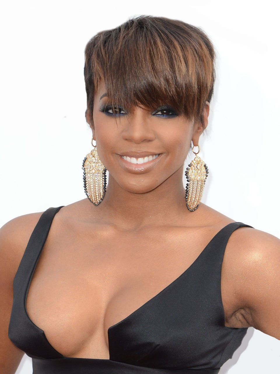 Goodbye Bob! Kelly Rowland Debuts Edgy Haircut at Billboard Music Awards