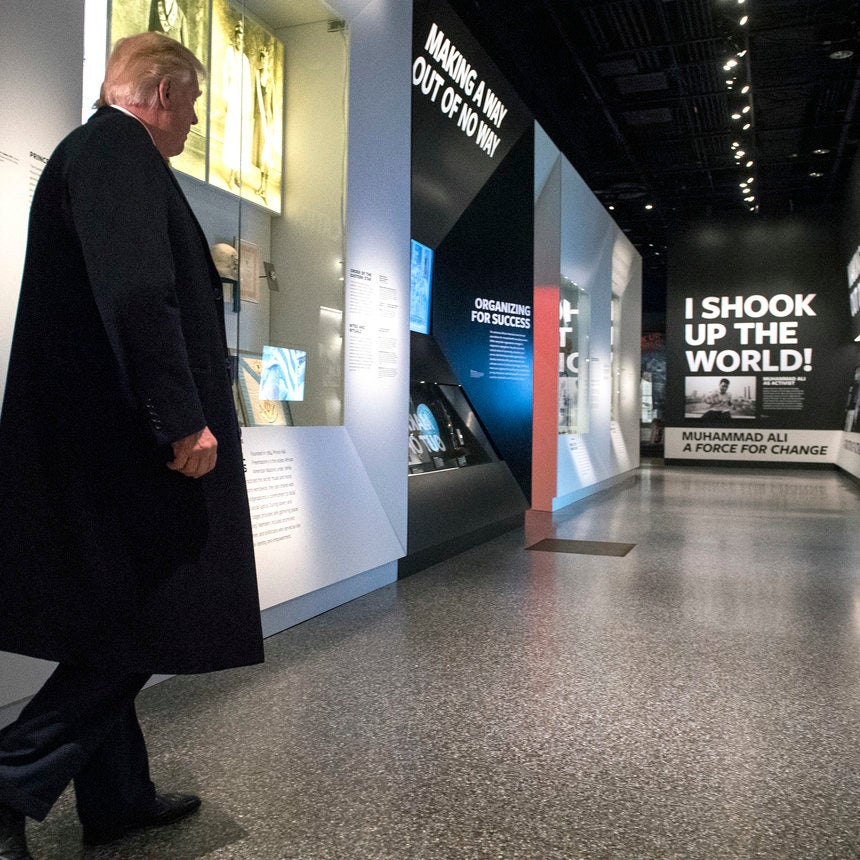 NMAAHC Hits 1 Million Visits As Trump Finally Makes His Way To The Museum