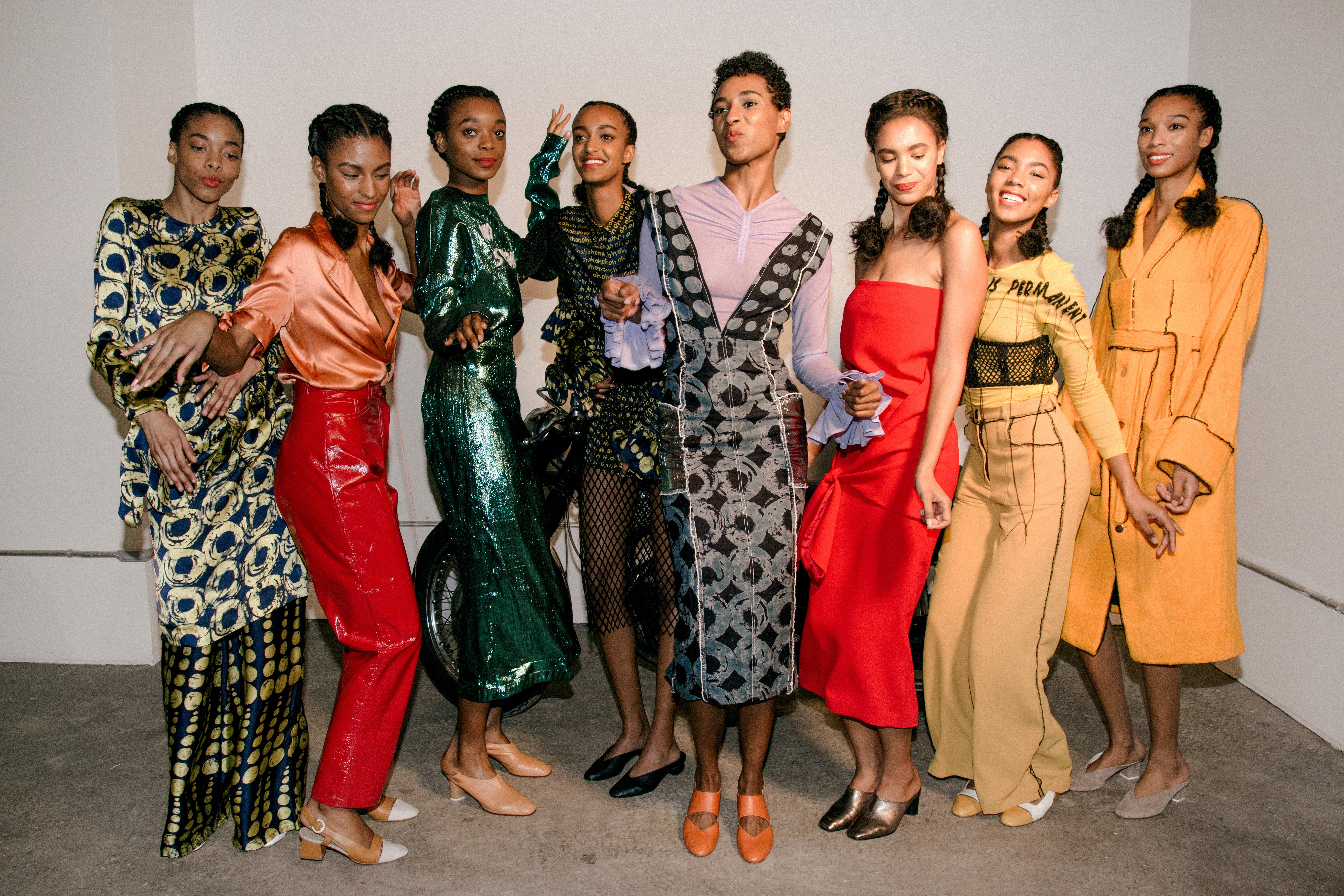How Young Black Entrepreneurs Made A Bold Splash at New York Fashion Week