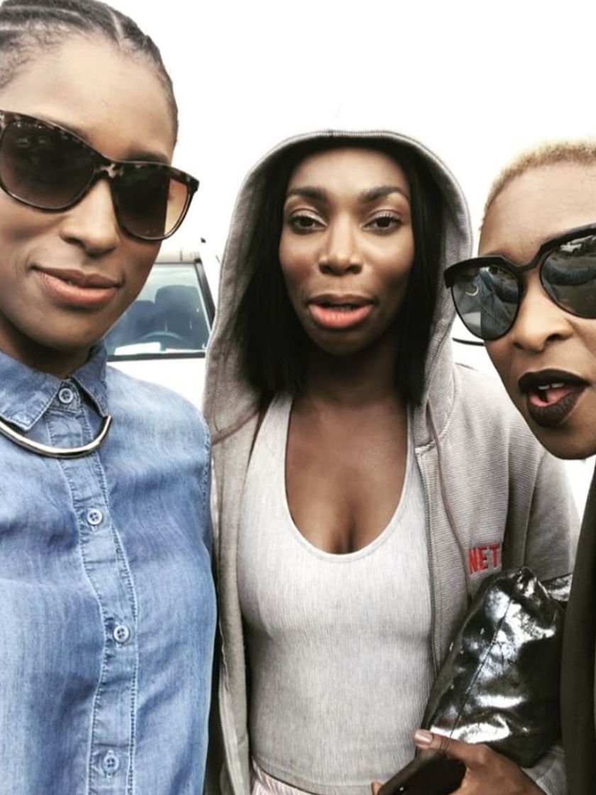 Issa Rae, Cynthia Erivo and Michaela Coel Serve Up Sing-A-Long #BlackGirlRealness