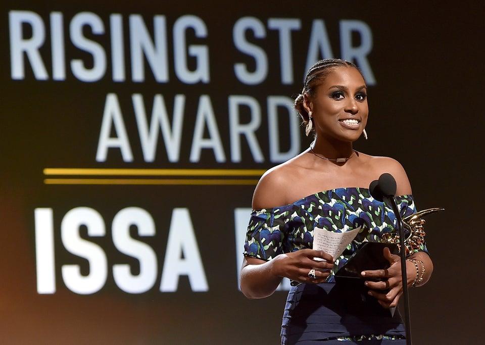 Issa 'Bae' accepts ABFF Rising Star Award