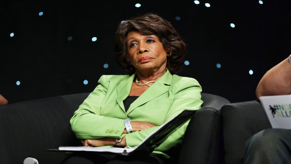 Rep. Maxine Waters Visits 'The Real' And Doesn't Hold Back On Trump Opinion
