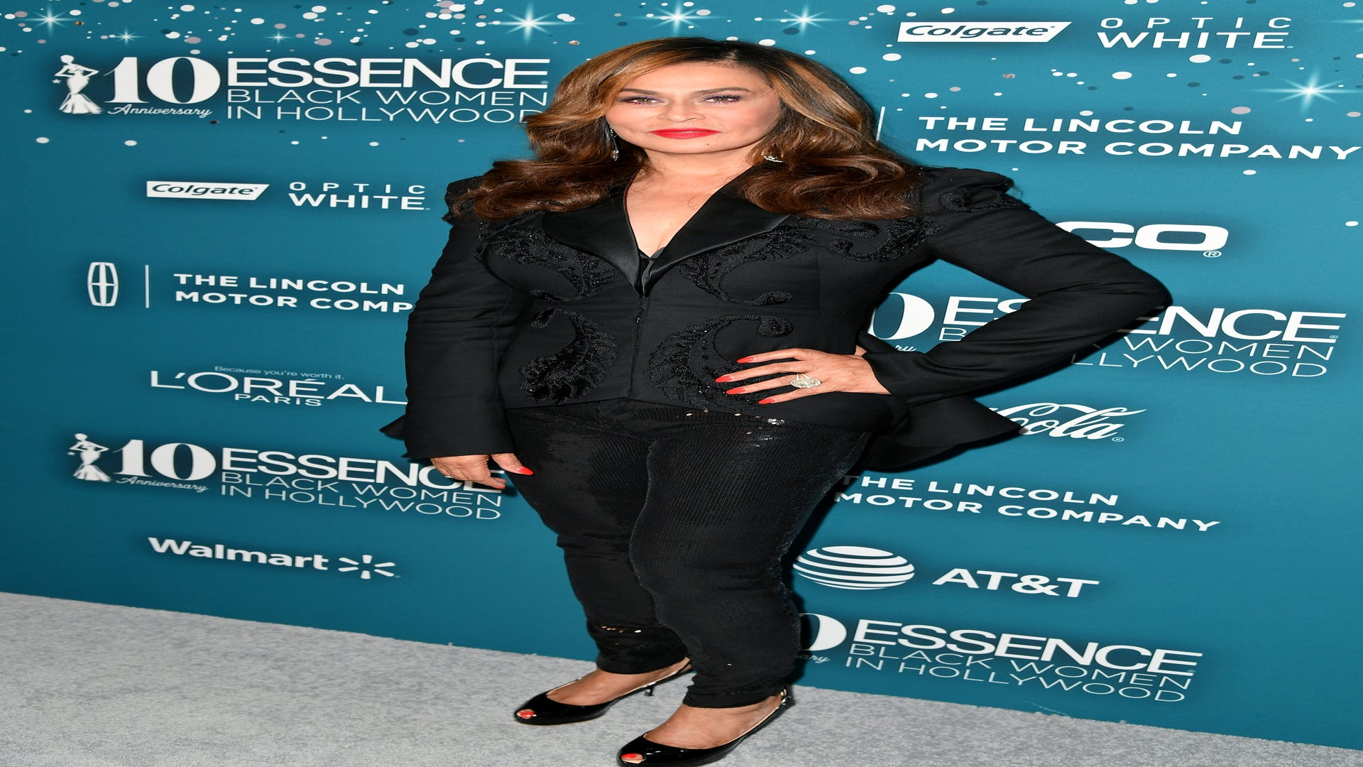 Tina Lawson Rocks Her Own 'Throw Back' Designs to Black Women in Hollywood