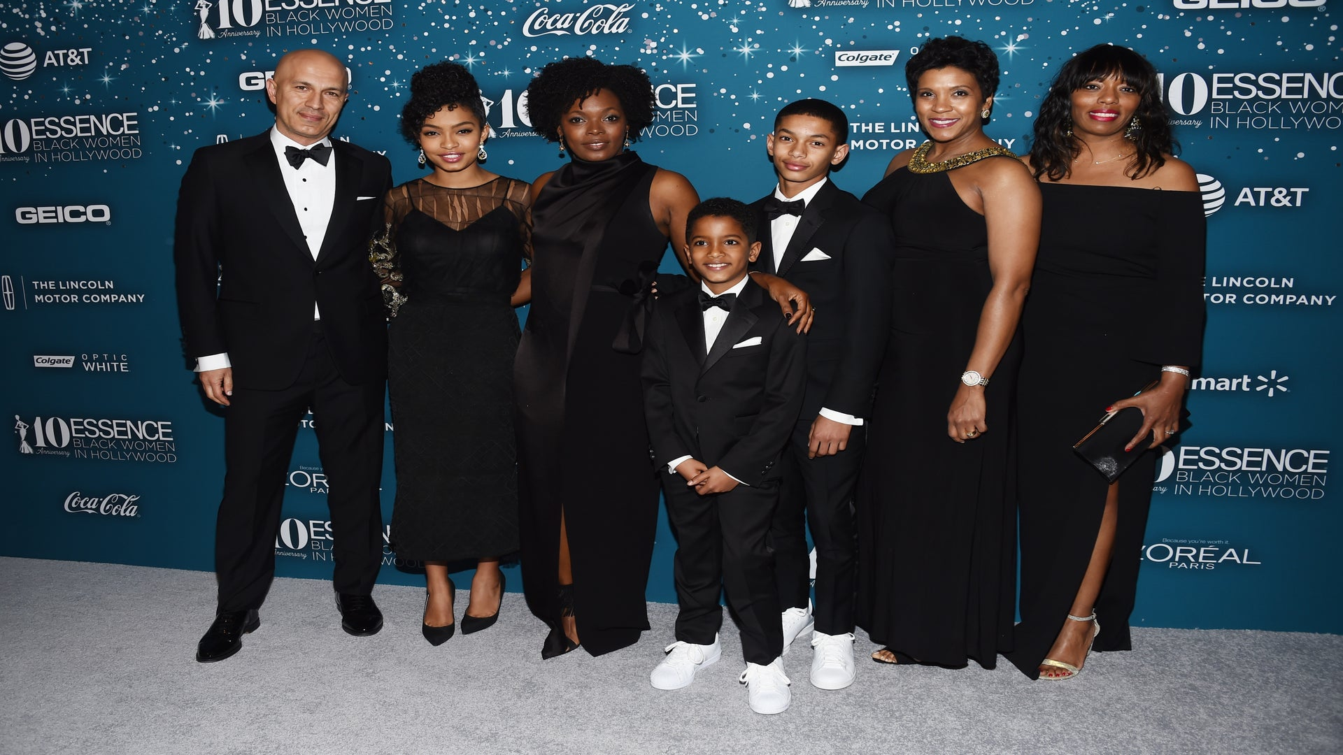 Photo Fab: Yara Shahidi Brings Her Beautiful Family Out for Black Women in Hollywood Awards