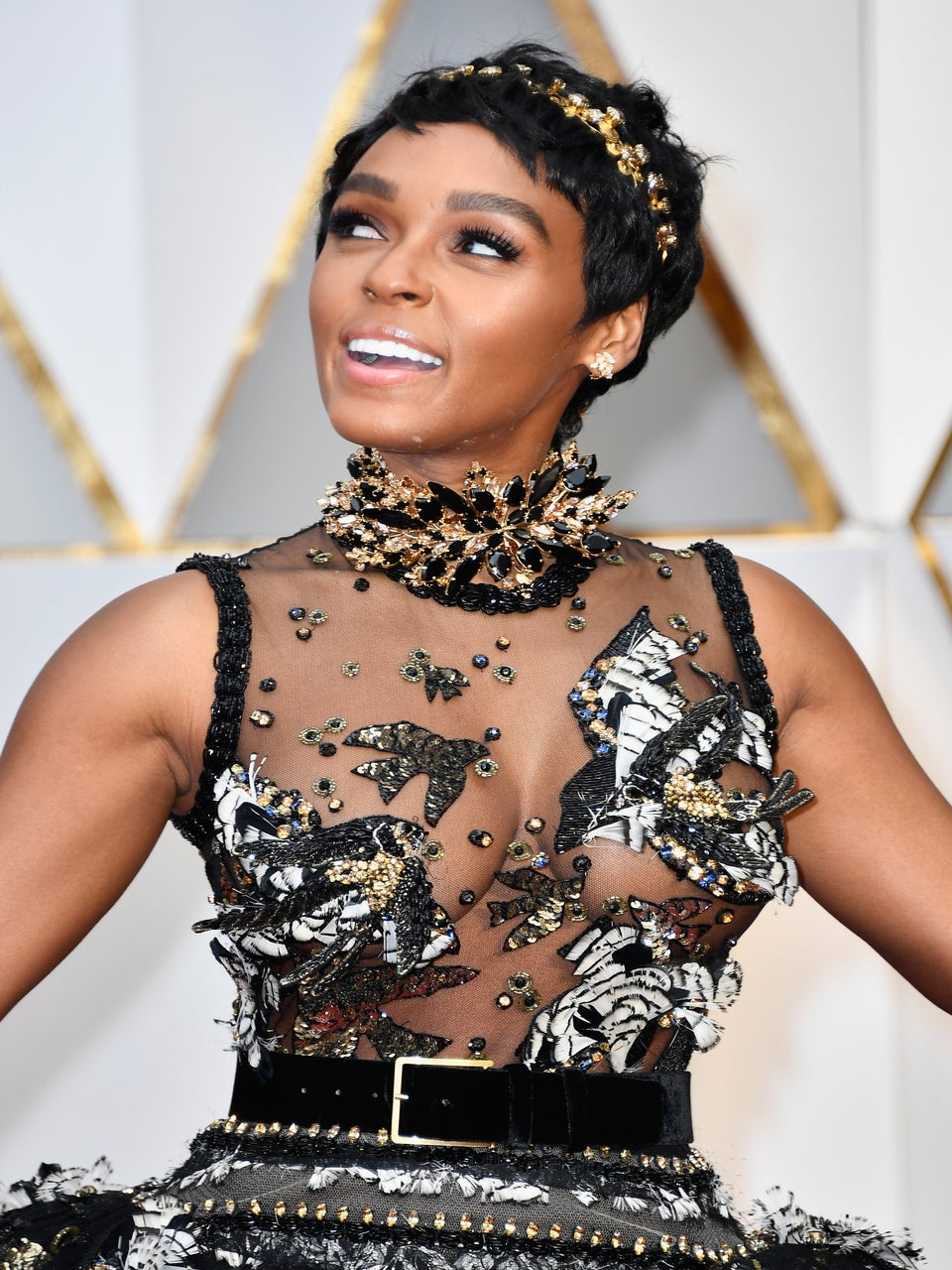 Janelle Monáe's Beauty Reign Is Unmatched At The 2017 Academy Awards