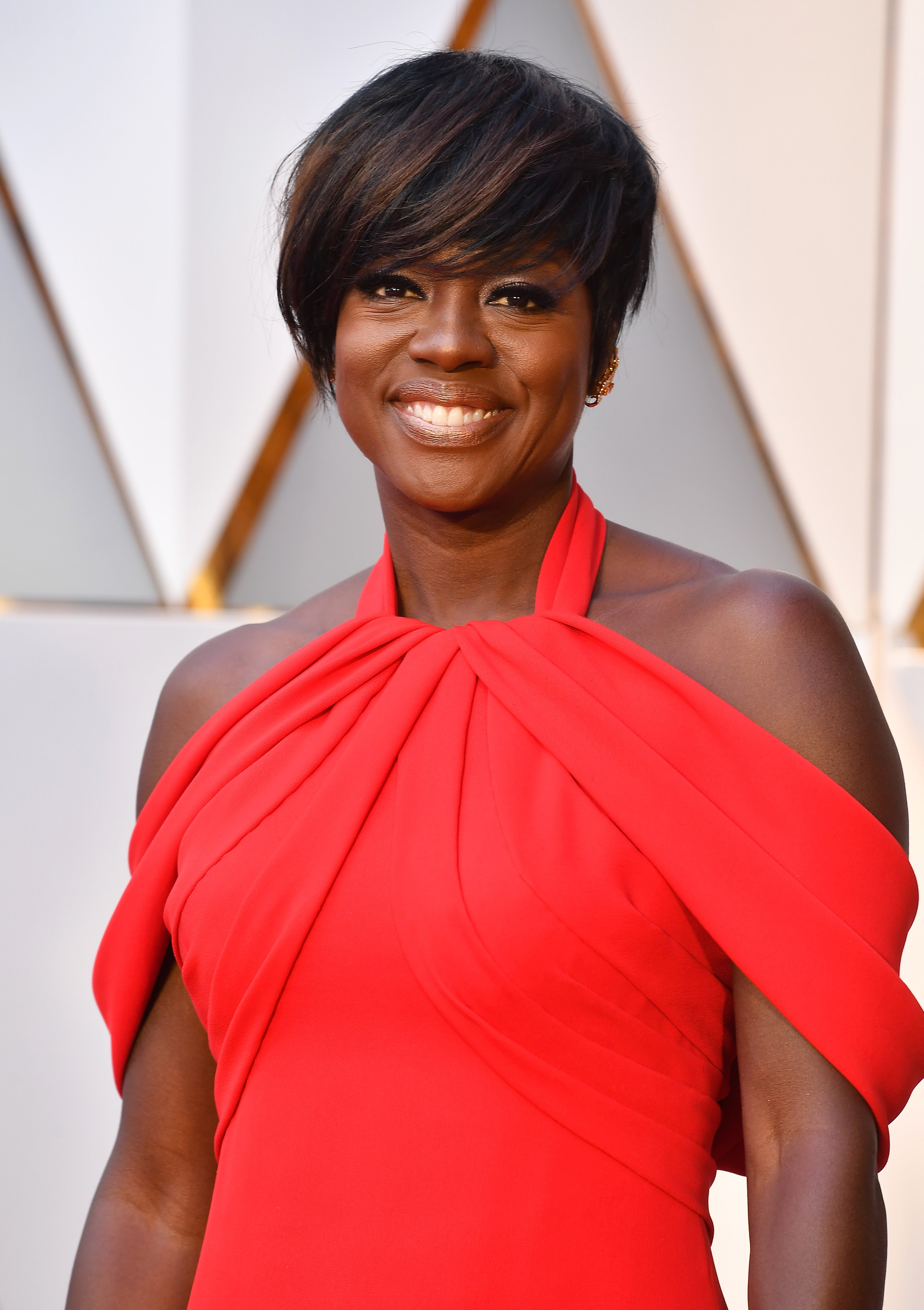 A Tearful Viola Davis Thanked Her Husband And Daughter During Her Moving Oscars Win