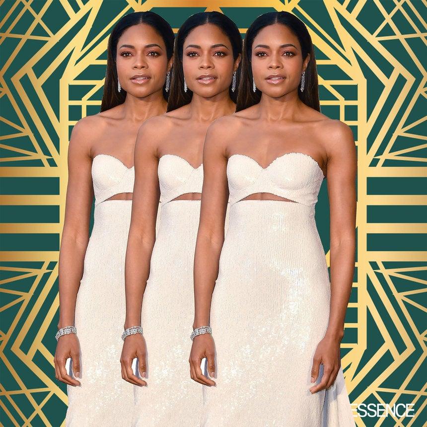Naomie Harris' 2017 Oscars Calvin Klein Dress is a Major Key