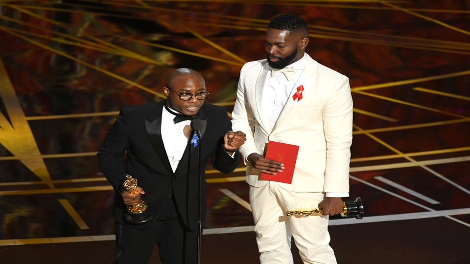 Oscars 2017: 'Moonlight's' Barry Jenkins and Tarell Alvin McCraney Win Best Adapted Screenplay