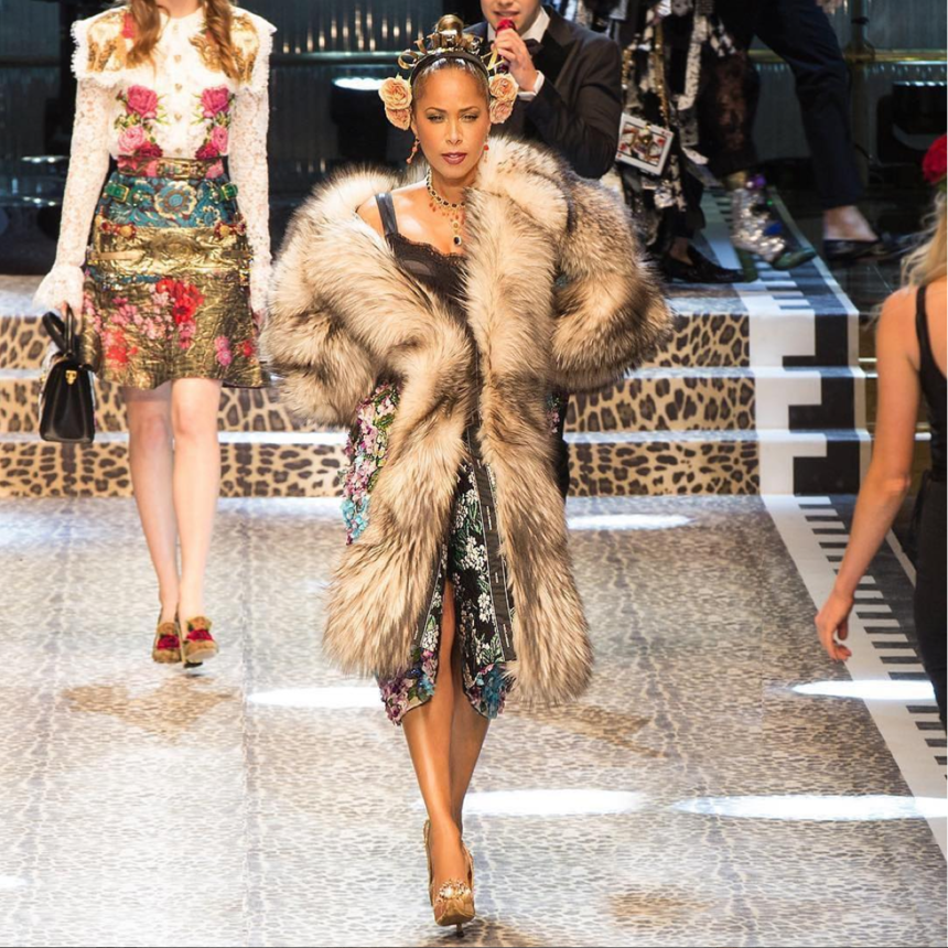 You Have to See How the Harveys Took Over Dolce & Gabbana's Milan Runway Show