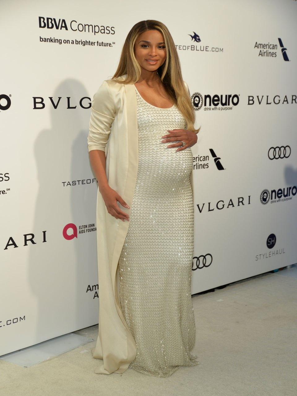 Pregnant Ciara Is 'Fine' After Car Accident in Los Angeles: Source