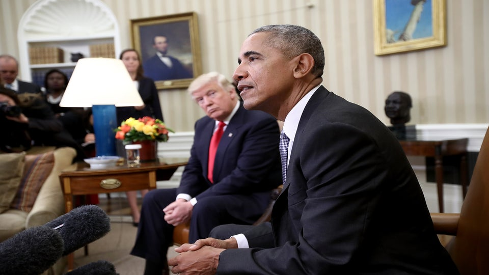 President Trump Thinks Obama Is Behind All the Protesting In the Country
