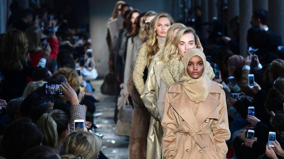 Hijab-Wearing Model Halima Aden Debuts at Milan Fashion Week