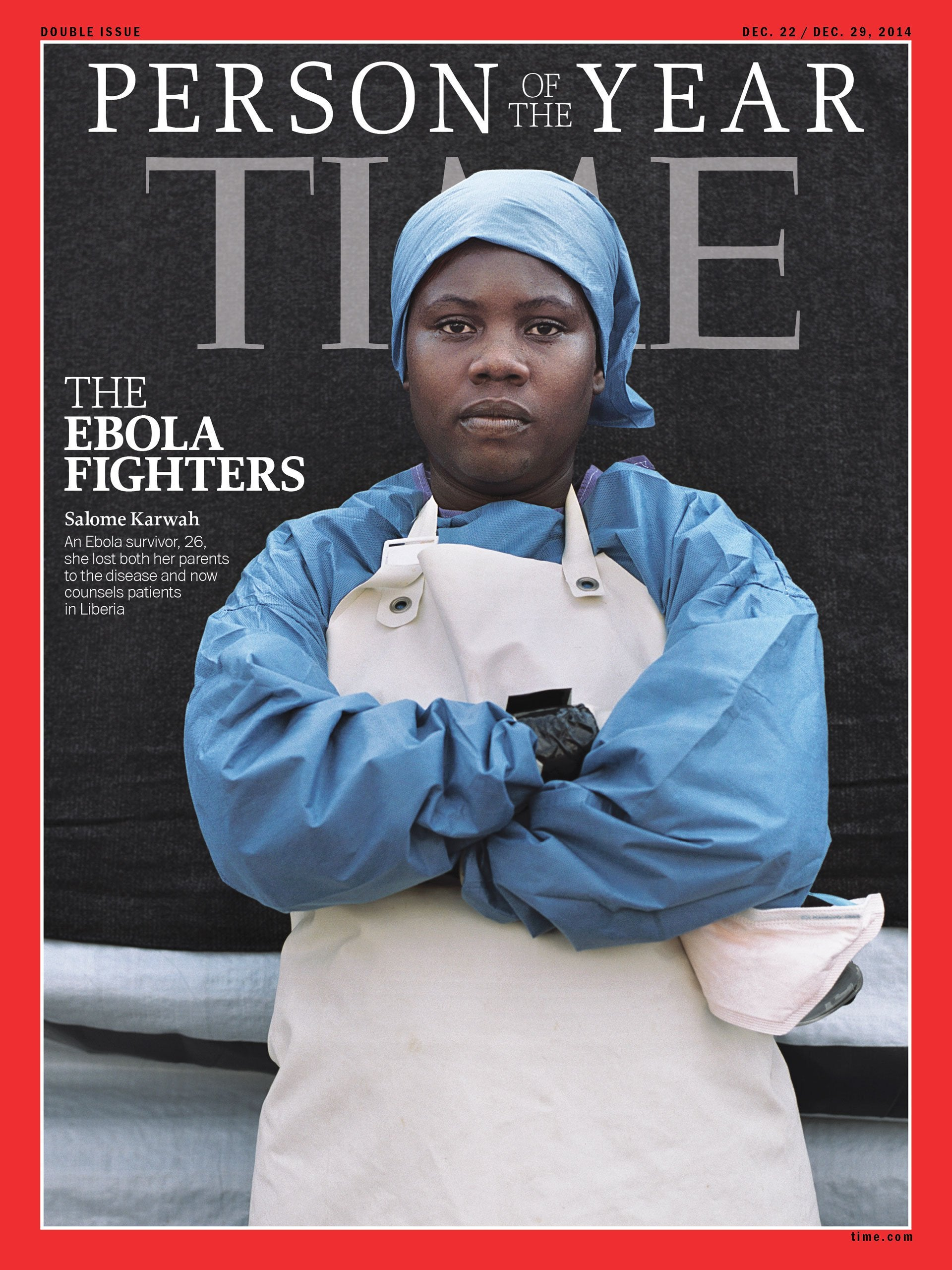 Ebola Survivor Who Was Named TIME's 2014 Person Of The Year Dies In Childbirth