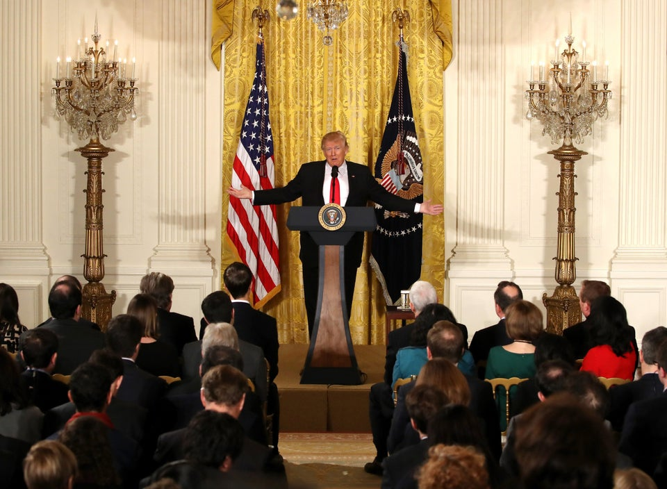 Read President Trump's Most Trumpy Comments From That Press Conference
