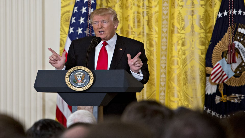 Donald Trump Denies 'Ranting and Raving' In Extraordinary Press Conference
