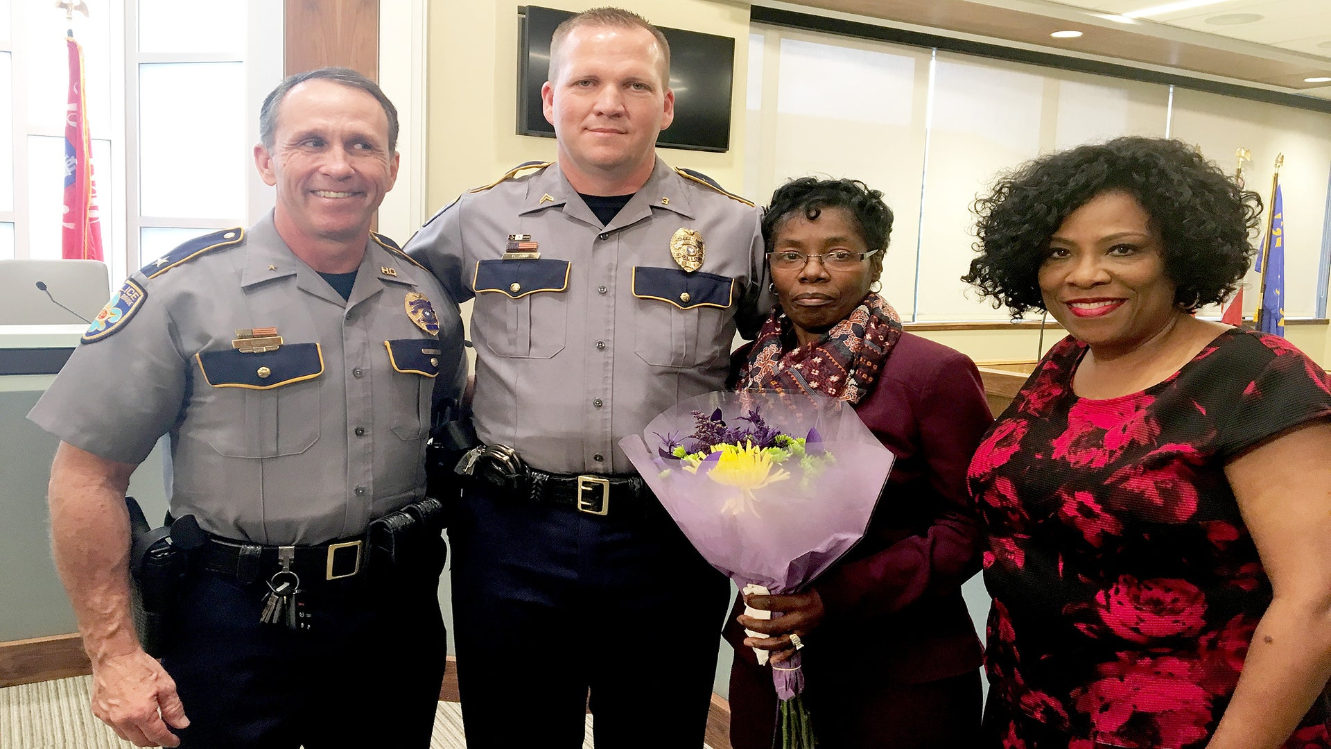 Hero Grandmother Thwarts Baton Attack On Baton Rouge Cop: 'We Have Just Lost Too Many Men'