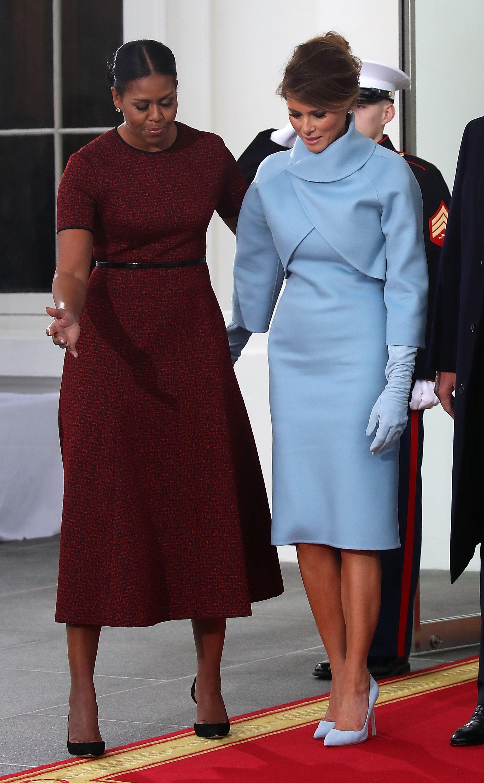 Michelle Obama Melania Trump Inauguration Gift Essence