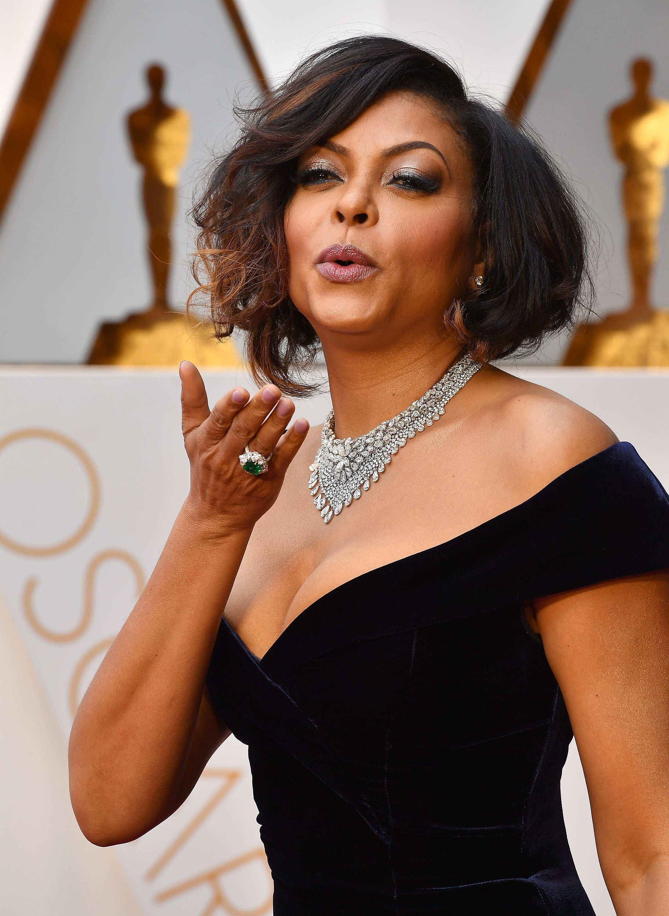 Taraji P. Henson Pays Tribute to Hidden Figures 'Selfless Heroes' at Oscars: 'These Women Changed the Course of History'