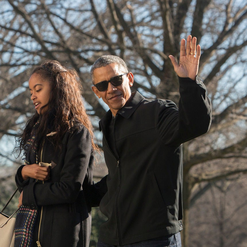 Barack Obama Takes Daughter Malia to Broadway Show -- And He Looks Incredible!