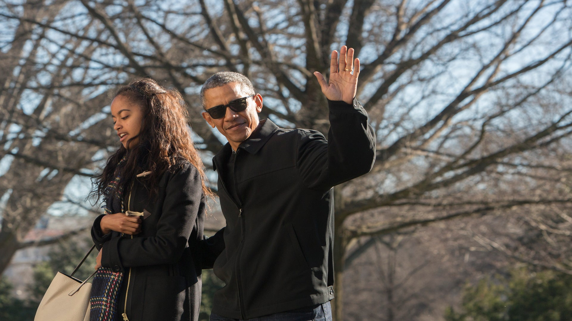 Barack Obama Takes Daughter Malia to Broadway Show — And He Looks Incredible!