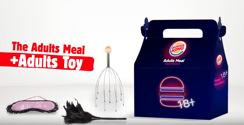 A Side Of Sex? Valentine's Day Meals At Burger King Will Come With An Adult Toy