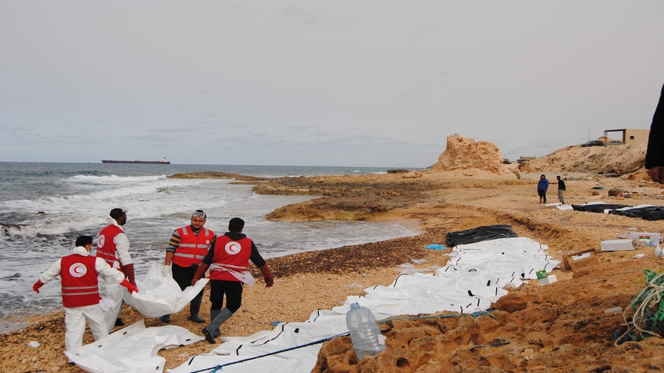 74 Bodies of Migrants Wash Ashore In Libya After Attempted Crossing