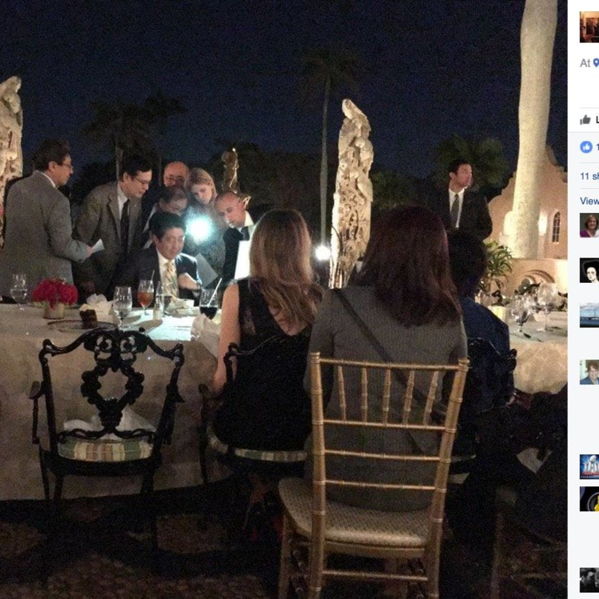 Social Media Photos Show The Risks Of The 'Winter White House'