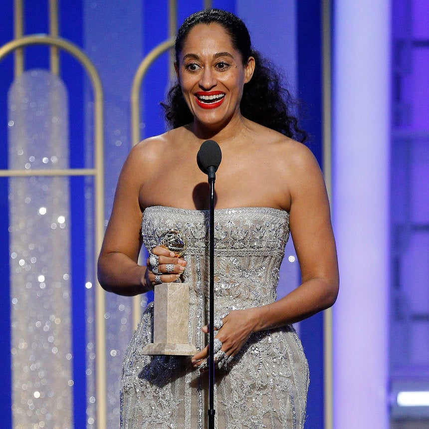 Tracee Ellis Ross on How She Really Uses Her Golden Globe Award: 'I Have Pounded Chicken with It'