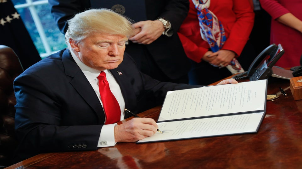 See Every Executive Order Donald Trump Has Signed Since Becoming President