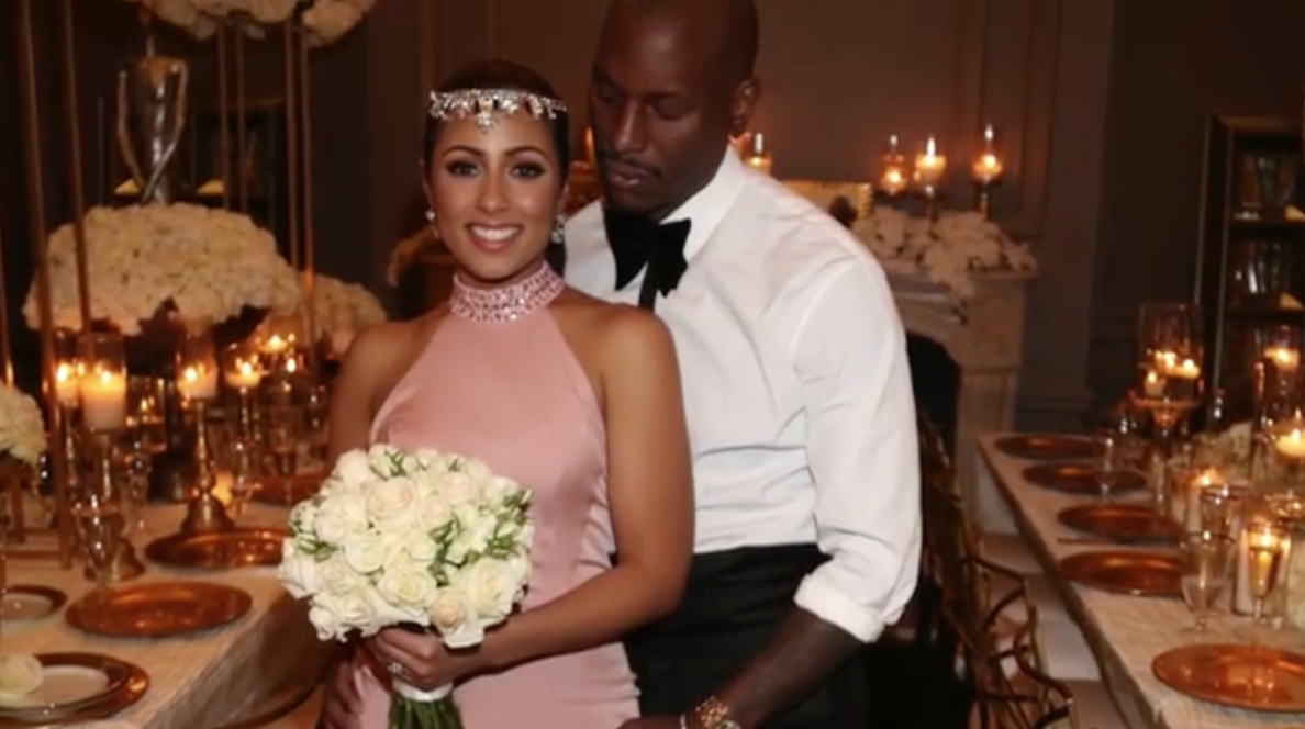 Surprise, Tyrese Is a Married Man!