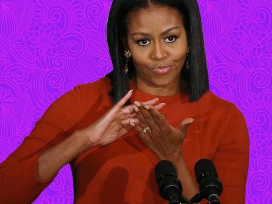 Tiny Tresses: Recreating Michelle Obama's Laid Mane