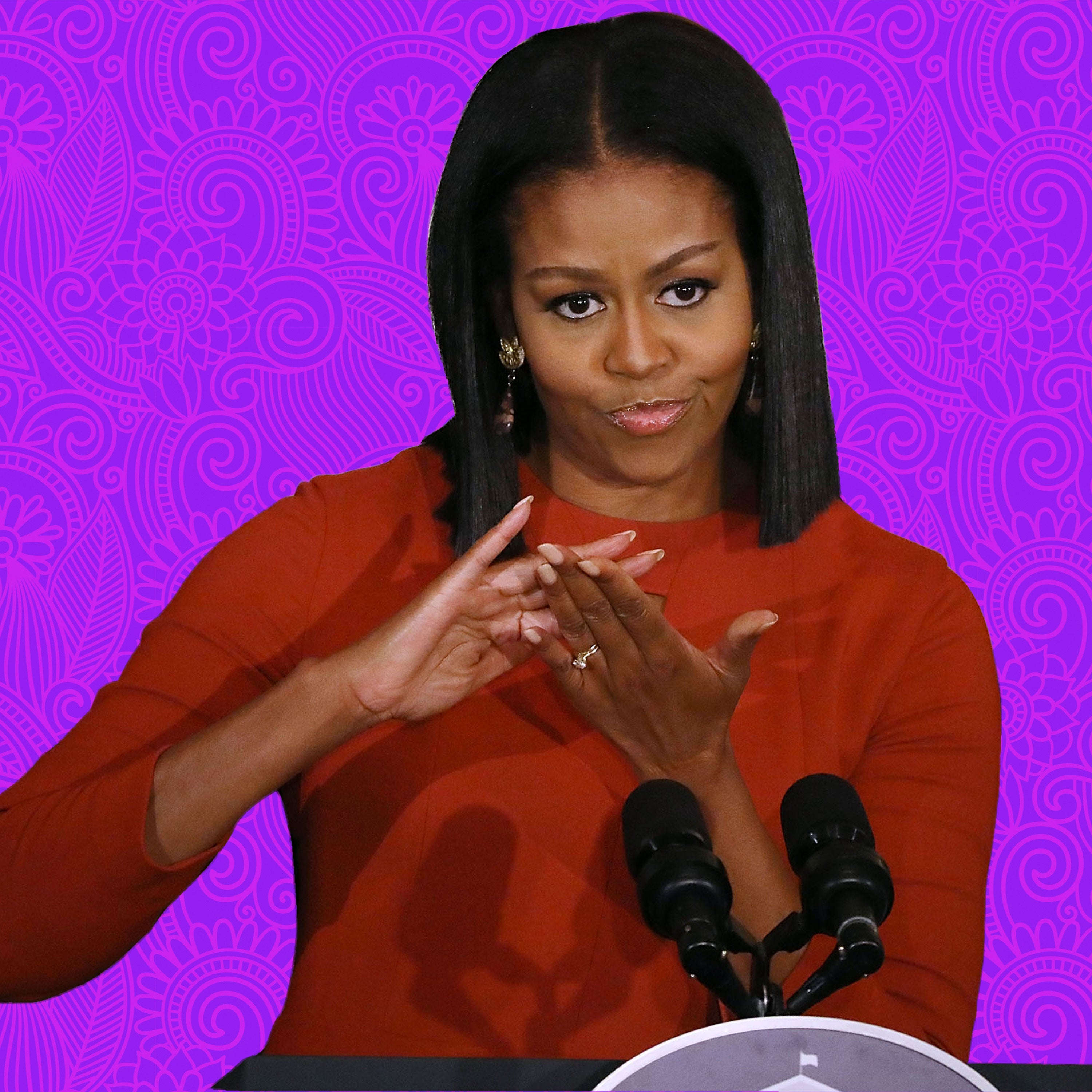 Tiny Tresses: Recreating Michelle Obama's Laid Mane
