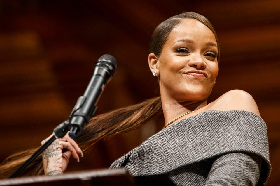 Highlights From Rihanna's Beautiful Humanitarian Speech At Harvard