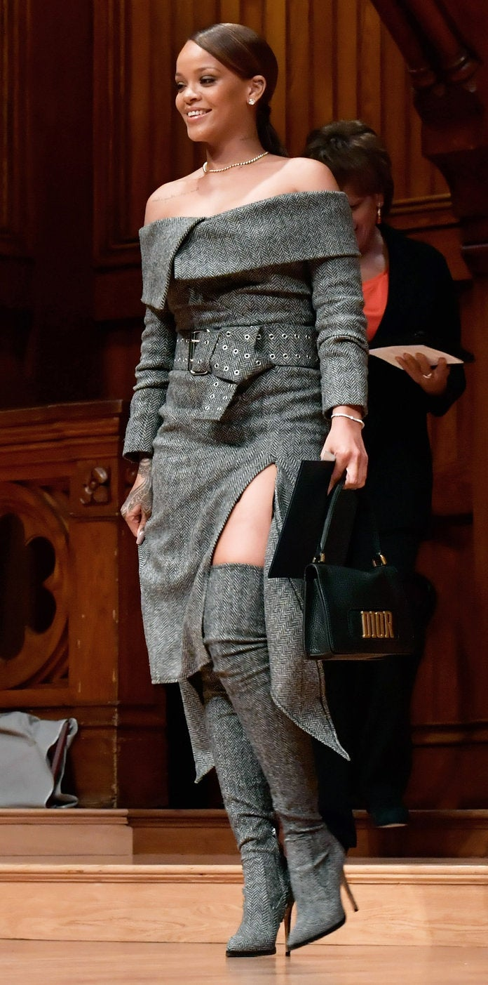 Rihanna Wins Fashion in Straight-from-the-Runway Monse Ensemble