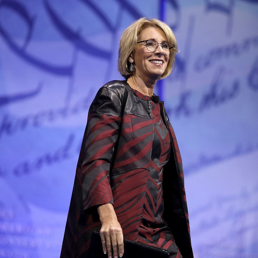 Betsy DeVos Likening HBCU's To 'School Choice' Was No Accident - It's Her Agenda
