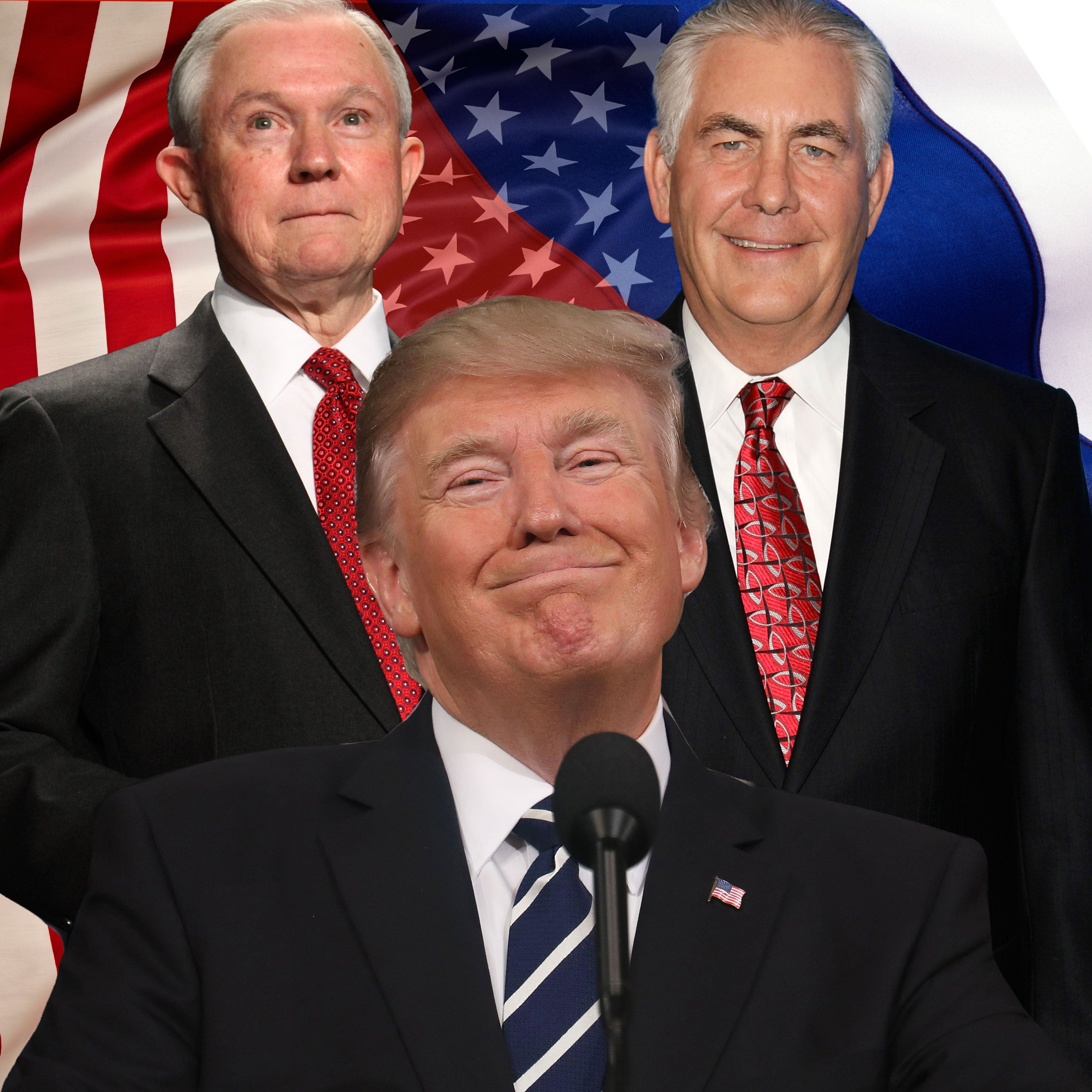 Jeff Sessions And Other Trump Officials WithUndeniable Ties To Russia