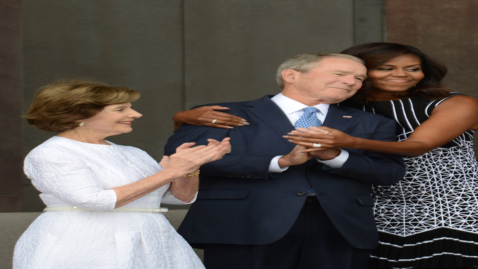 President Bush Gushes About Friendship With Michelle Obama