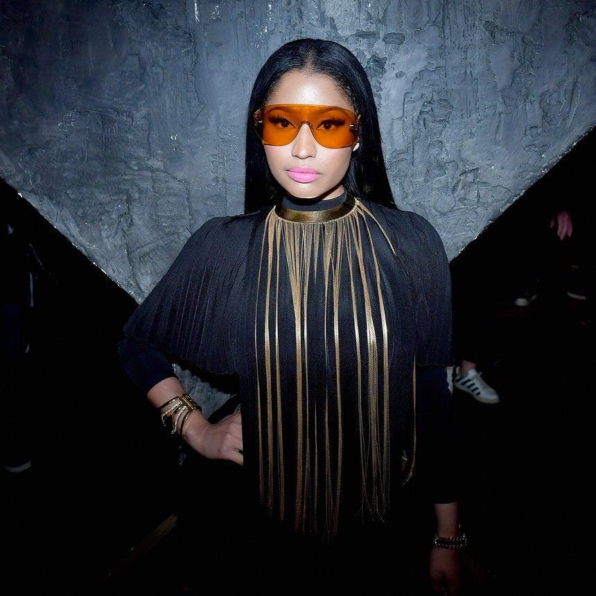 Nicki Minaj's New Video For 'No Frauds' Features A Familiar Face