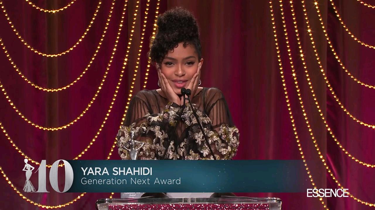 Black Women In Hollywood Awards: Watch Yara Shahidi's Beautifully Woke Speech On Young Womanhood