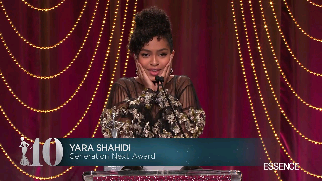 Black Women In Hollywood Awards: Watch Yara Shahidi's Beautifully Woke Speech On Young Womanhood