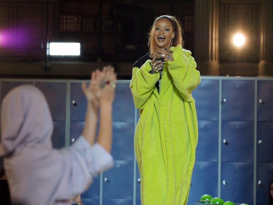 Paris Fashion Week: Rihanna Kills It With Latest 'FENTY X PUMA' Fashion Show