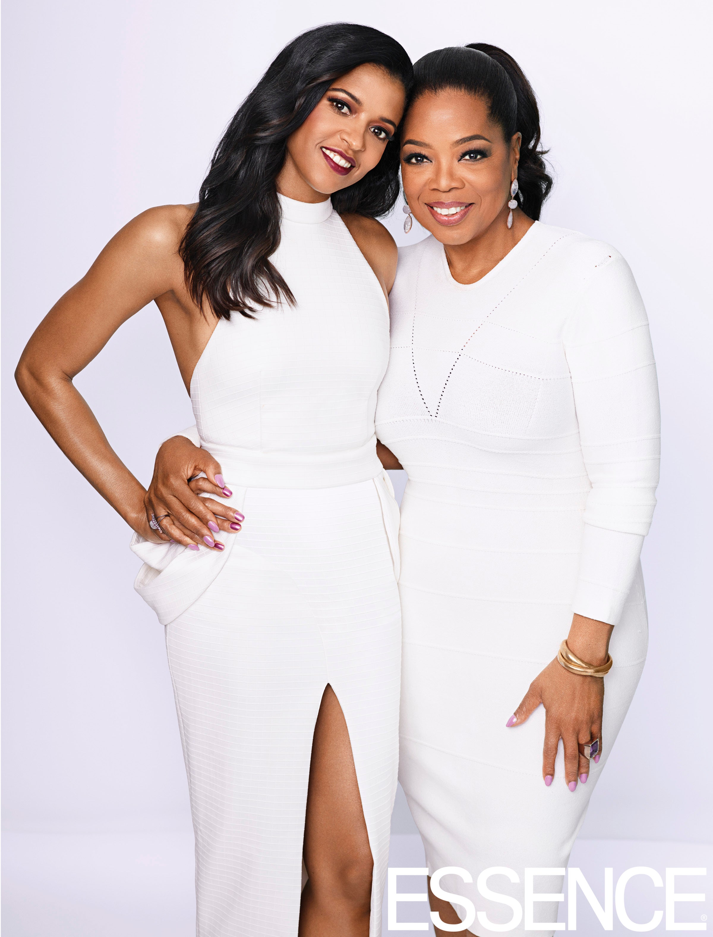 Oprah & Renee Elise Goldsberry Cover ESSENCE's April 2017 Issue