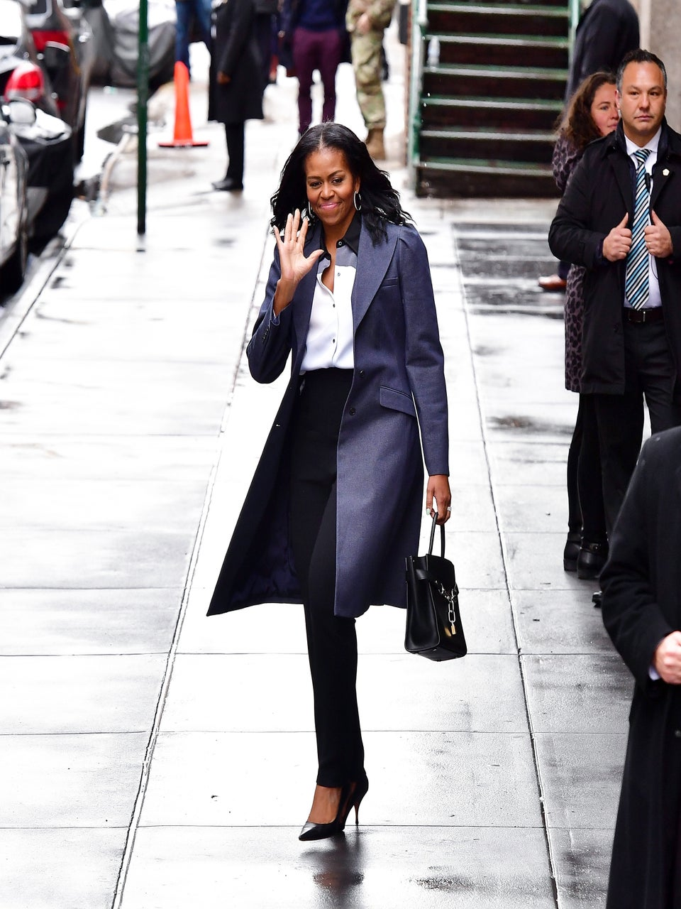 The Obamas Are Stunting Their Way Through NYC!