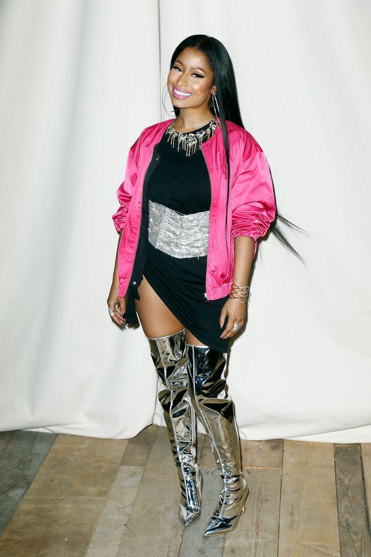 Nicki Minaj Signs with a Major Modeling Agency: 'My Music … Inspires My Fashion'