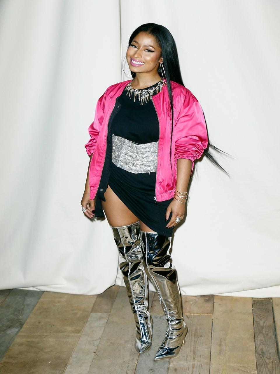 See Nicki Minaj Lip Sync To A Celine Dion Classic