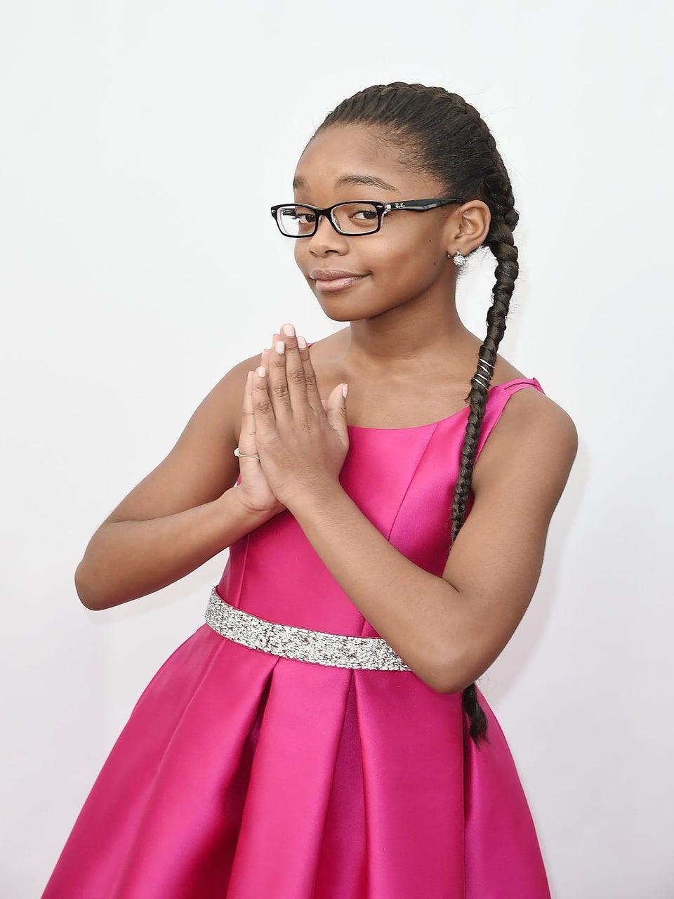 Watch Adorable Black-ish Actress Marsai Martin Slay Beyoncé Hits