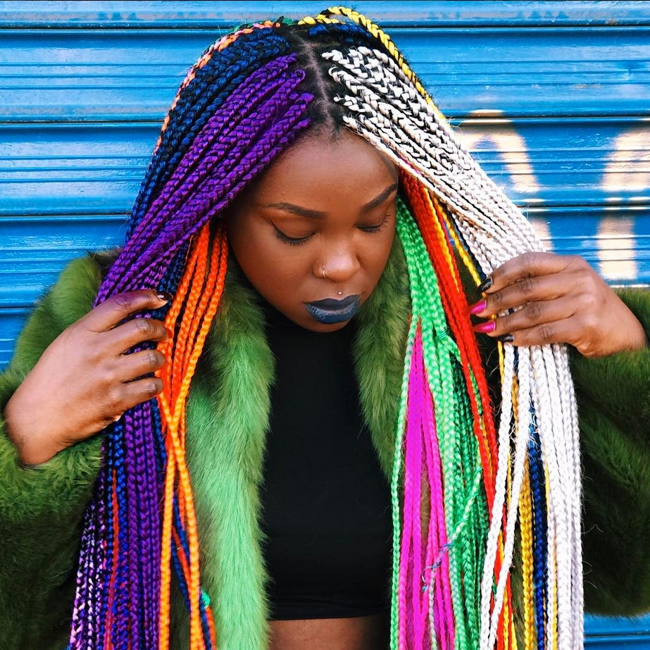 Rainbow Hairstyles Natural Hair Essence