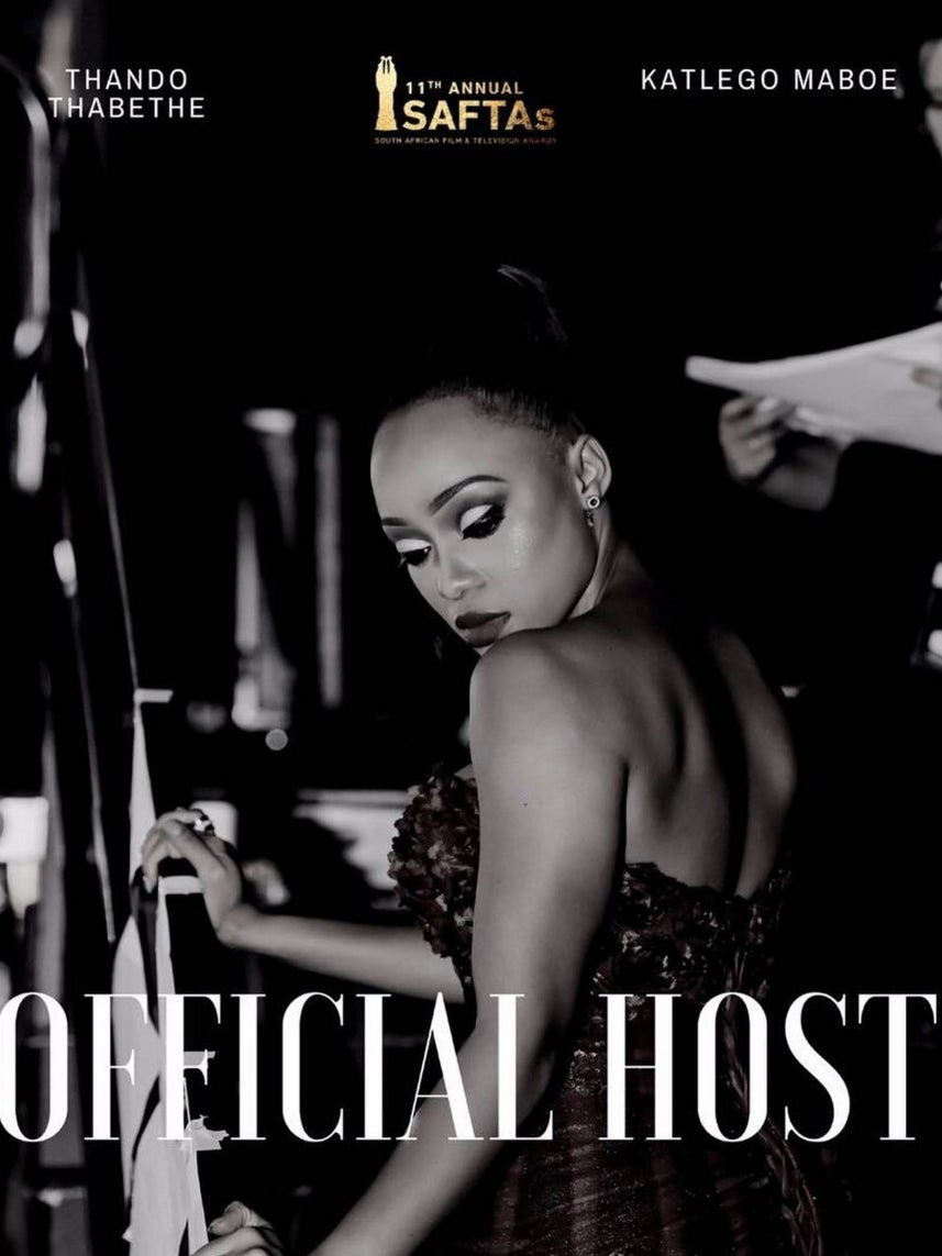 Rising Starlets Thando Thabethe & Katlego Maboe To Host 2017 South African Film And Television Awards