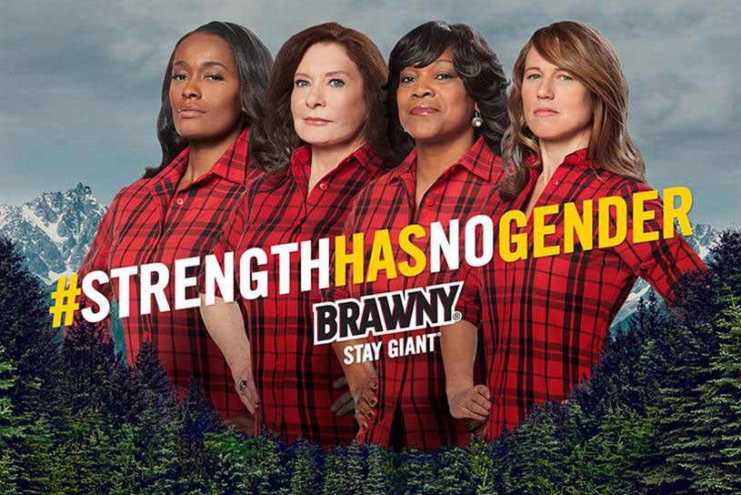 Here's A New Face Of Brawny Paper Towels And She's An American Hero