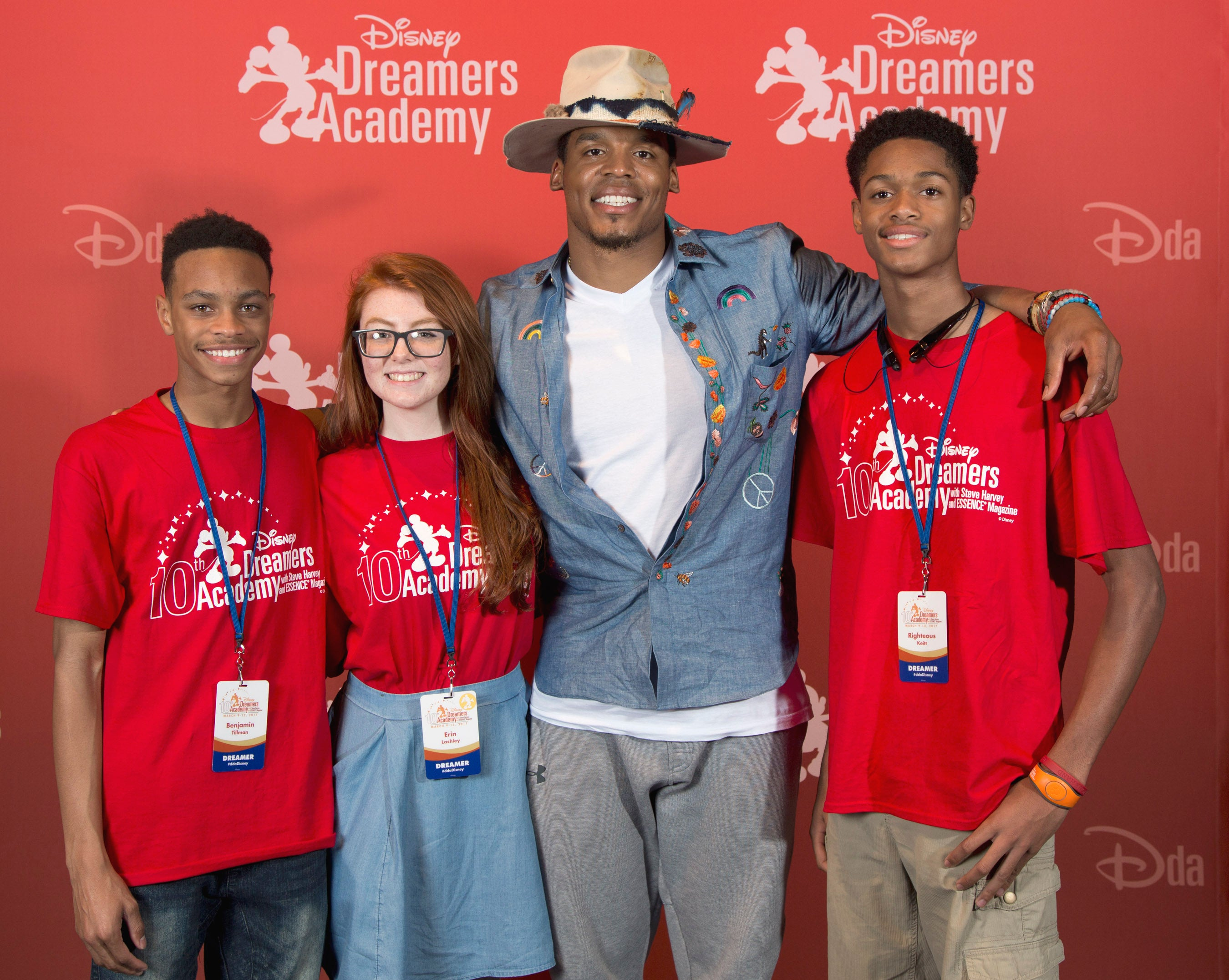 The Best Moments From the 10th Annual Disney Dreamers Academy With Steve Harvey
